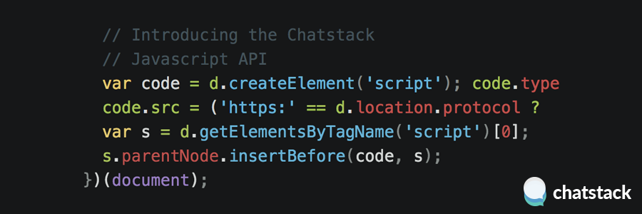 Chatstack Javascript API Launched