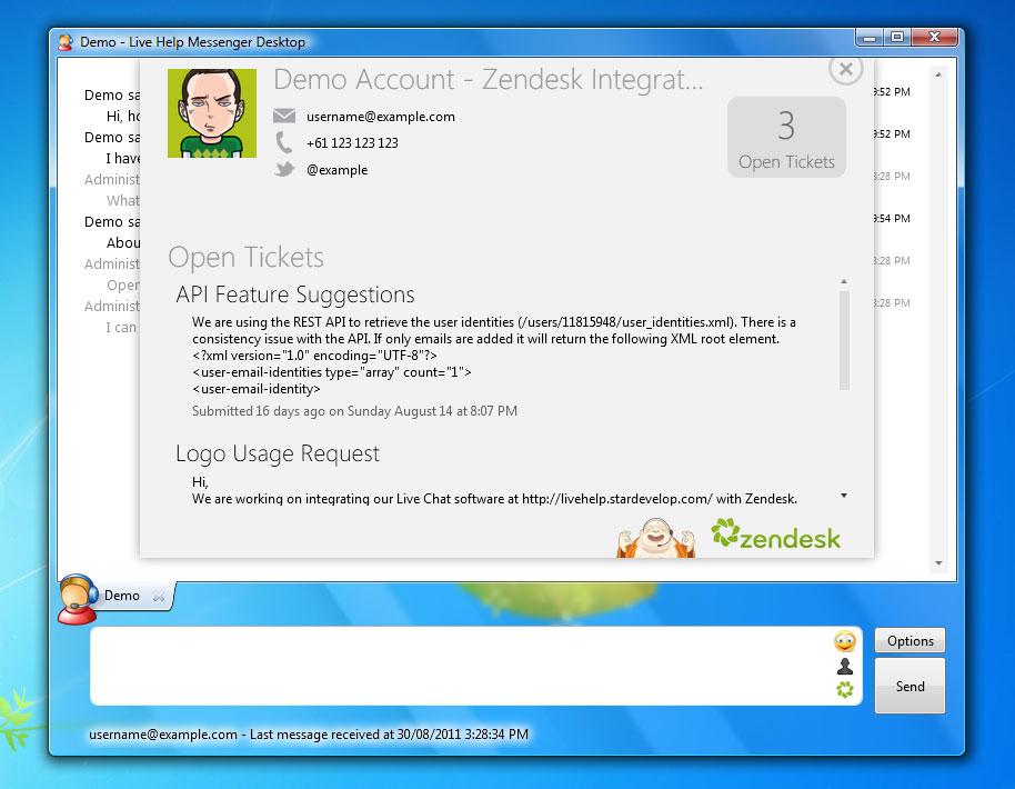 Chatstack Zendesk Integration - Live Support Software, Live
