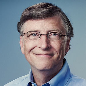 Bill Gates, Co-founder of Microsoft Inc.