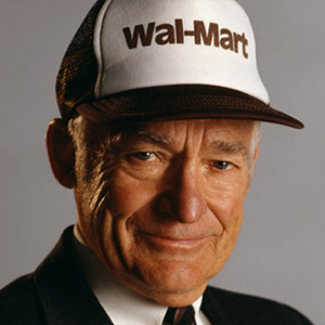 Sam Walton, Founder for Walmart
