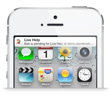 Live Chat Software iPhone App Help Desk Software PHP
