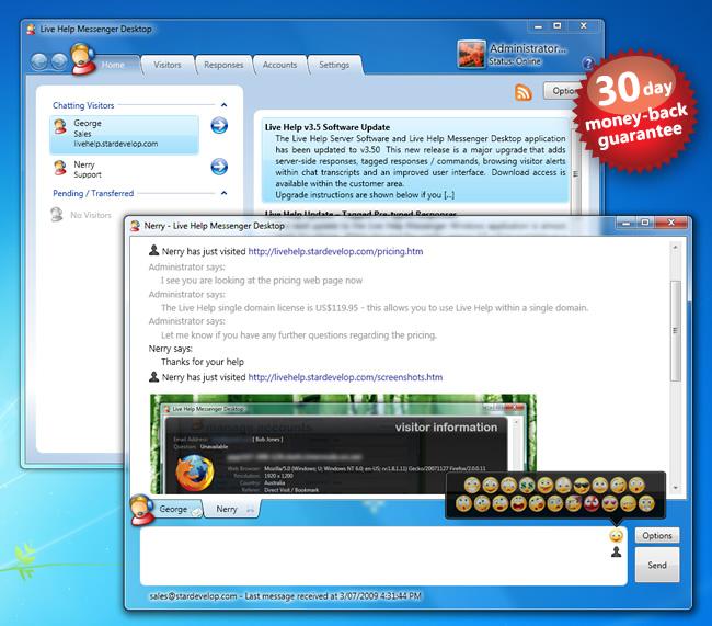 Live Help Messenger 2 95 NULLED » SCRiPTMAFiA ORG | Download