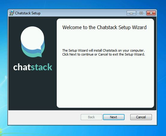 Chatstack – Desktop App Installation Wizard