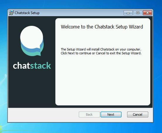 Chatstack – Desktop App Installation Wizard